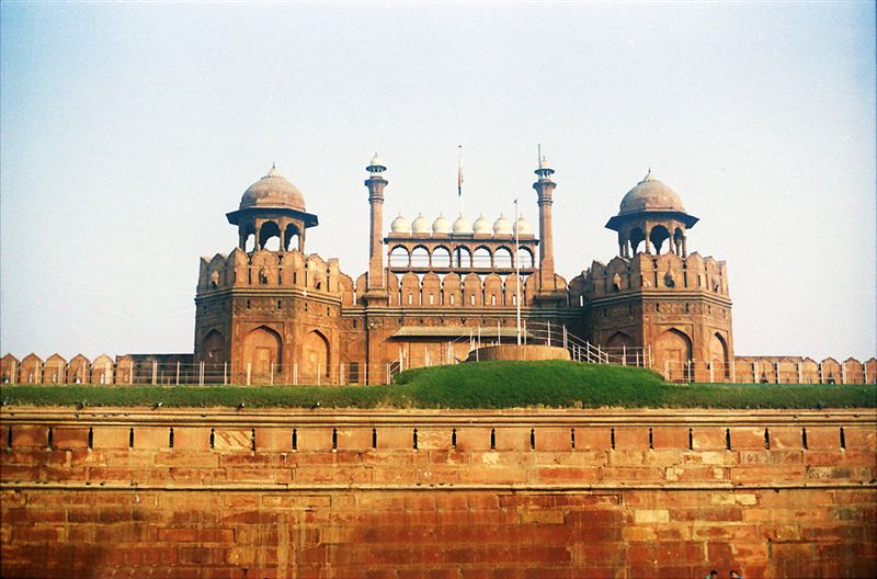 Front Of Red Fort