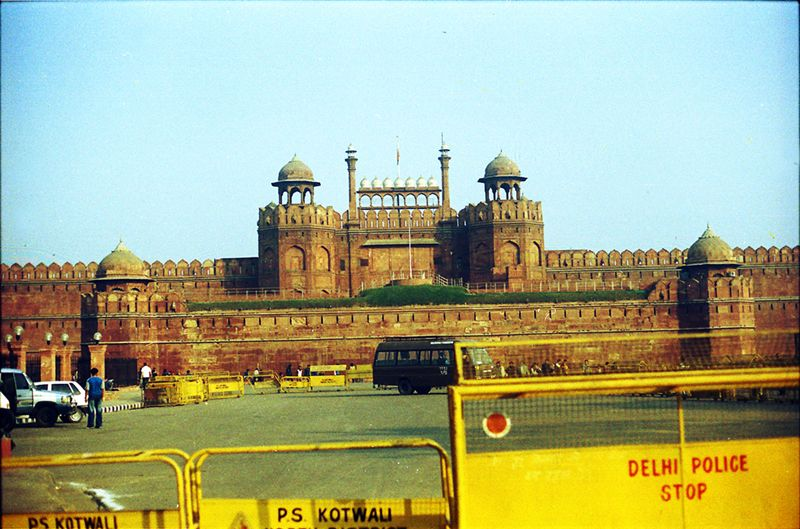 Security At Red Fort